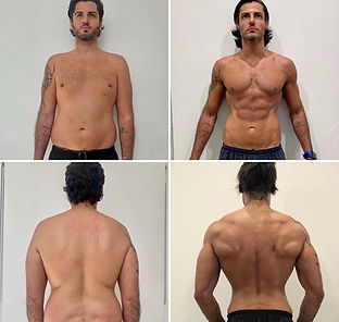 Personal training transformation studio