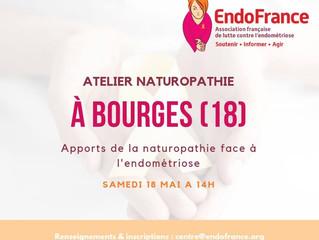 Atelier naturopathie avec EndoFrance