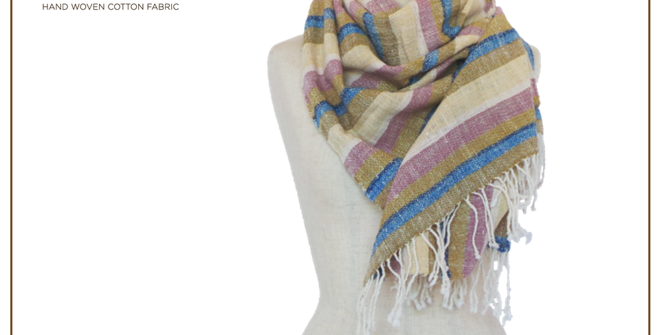Scarf (cotton handmade)