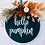 Thumbnail: Pumpkin Door Hanger