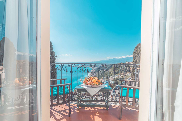 Taormina Vista Etna