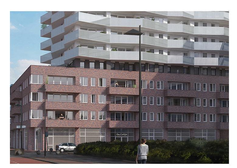 84 appartementen en bedrijfsruimten , Rijswijk