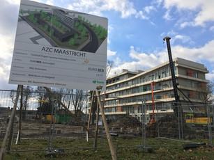 Start bouw AZC Maastricht