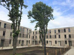 AZC Maastricht , bijna klaar.
