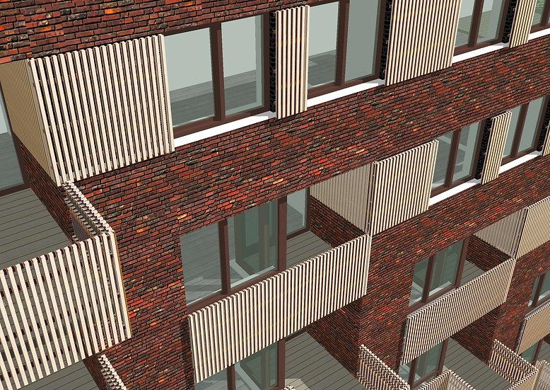 33 appartementen en bedr. r , Geuzenveld Amsterdam