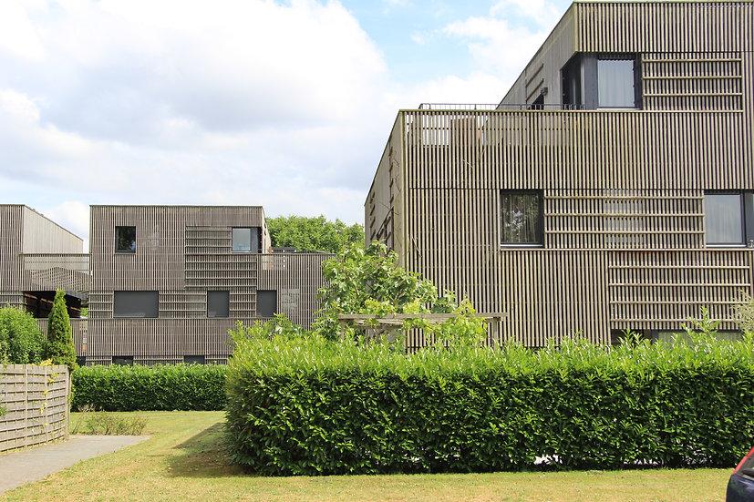 24 kwadrantwoningen, Geuzenveld Amsterdam