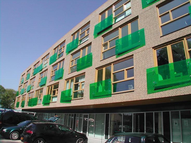 64 appartementen en bedrijfsruimten, Harderwijk