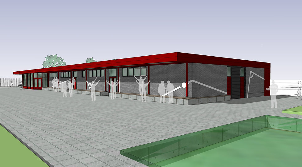 Clubhuis DSOV, Vijfhuizen