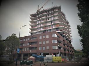 Metselwerk plint van de Colijn uit de steigers!