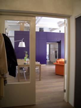 'purple box', Hageveld Heemstede