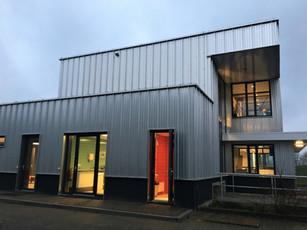 Opening bedrijfsgebouw RWZI Horstermeer.