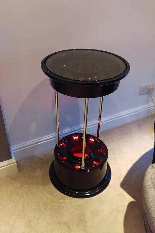 Panavia tornado wheel hub side table