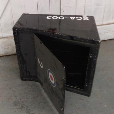 Genuine Red Arrows crew stowage box