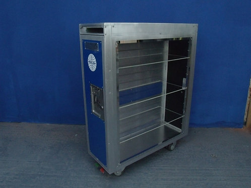 Aircraft galley cart wine/storage/file unit