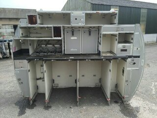 A320 rear galley unit