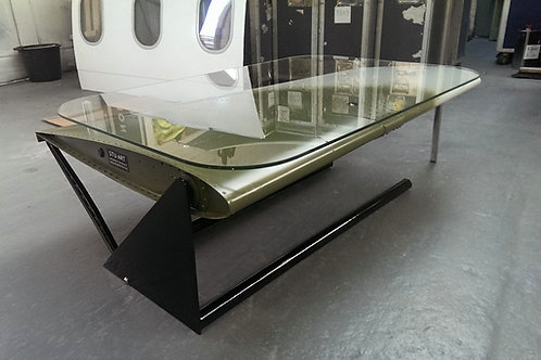 Lynx helicopter tailplane coffee table