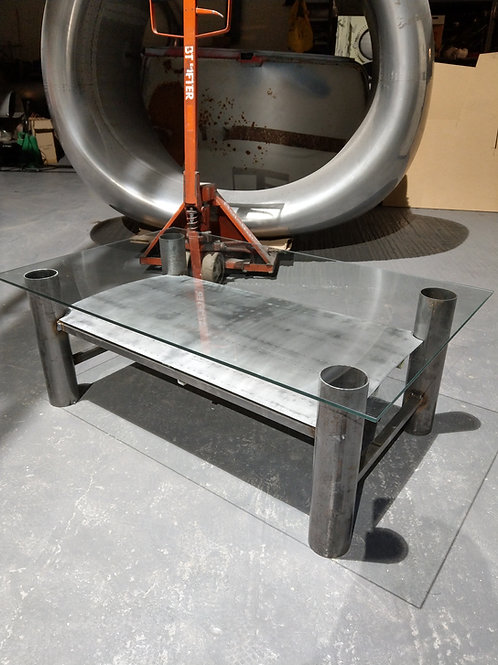 Fuselage piece coffee table