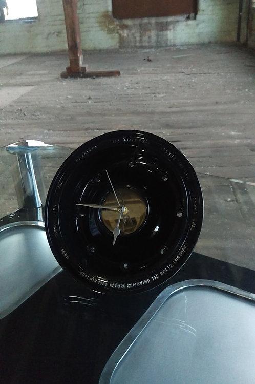 Tornado nosewheel wall clock