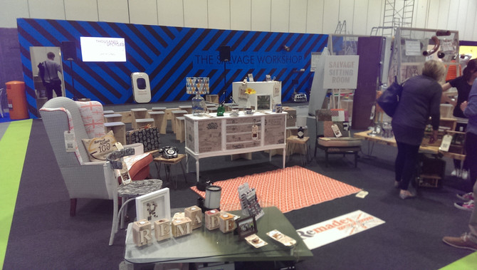 Exhibiting and workshops at Grand designs live, London Excel
