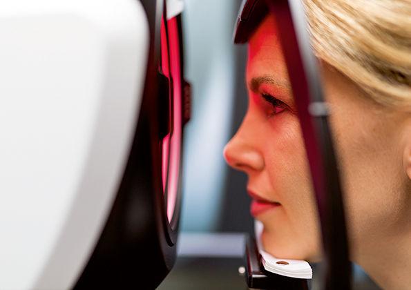 Biometrischer DNEye Scan
