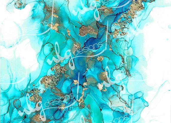 Iridescent Shrimp - Ink