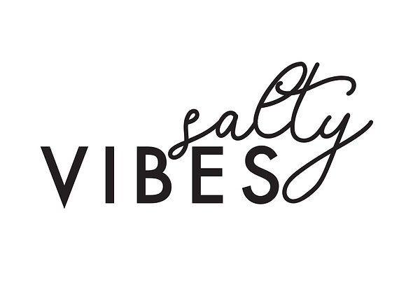 Salty Vibes Vinyl Decal