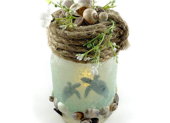 Sandy Ocean Jar