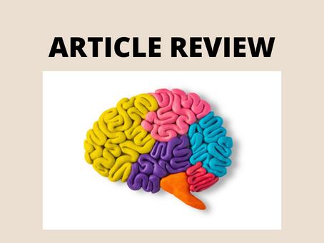 Article Review: Quantitative EEG Neurometric Analysis–Guided Neurofeedback Treatment in Postconcu...
