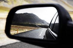 Miroir côté voiture