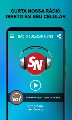 Conheçam a programação diversificada da rádio Sulacap News e como ouvir
