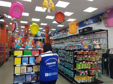 Procon-RJ divulga levantamento de preços de Material Escolar