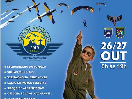 Museu Aeroespacial promove 3ª edição do Musal Airshow. Confiram a programação