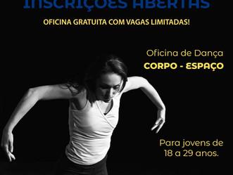 Em Sulacap, inscrições gratuitas e abertas para oficinas de dança e produção musical