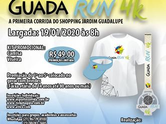 Guadalupe promove corrida e caminhada Guada Run 4k