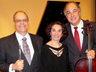 Trio Mignone se apresenta na Cidade das Artes