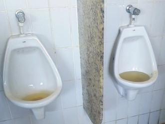 Banheiros do Terminal BRT Marechal Fontenelle estão sem condições de uso