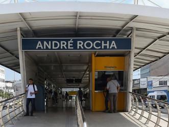Estação do BRT André Rocha, na Taquara, será reaberta na próxima semana