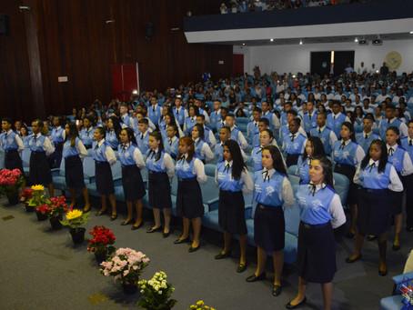 Fortes emoções na formatura do Núcleo de Aprendizes na Universidade da Força Aérea