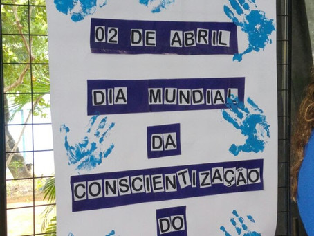 Rede Municipal vai comemorar com atividades remotas, o Dia de Conscientização do Autismo
