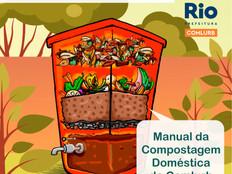 Comlurb lança manual com passo a passo para montar composteira em casa