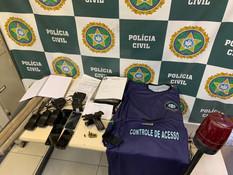 Milicianos são presos pela Polícia Civil em Guadalupe
