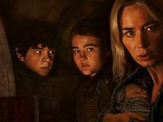 """Emily Blunt e Noah Jupe correm perigo em nova cena divulgada de """"Um Lugar Silencioso – Parte II"""""""
