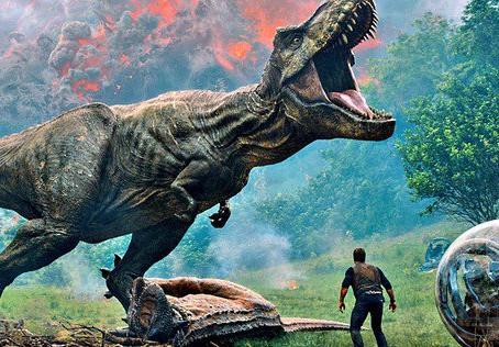 'Jurassic World: Reino Ameaçado' tem pré-venda em toda a Rede Cinesystem