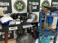 Polícia Civil prende fornecedor de munições e drogas em comunidade de Realengo