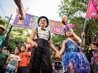 Dia das Crianças com circo e carnaval na Zona Oeste