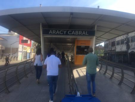 Estação Aracy Cabral, na Taquara, é reaberta