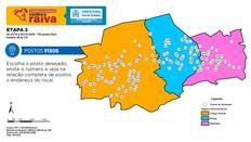 Quinta (22) tem vacinação contra raiva e haverá postos de Jardim Sulacap a Campo Grande