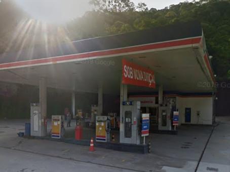 Posto na Estrada do Catonho tem bicos lacrados de gasolina e etanol
