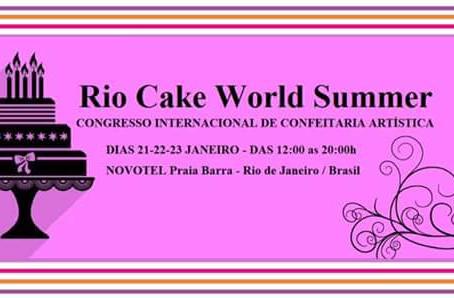 CULINÁRIAnews   Rio Cake world Summer