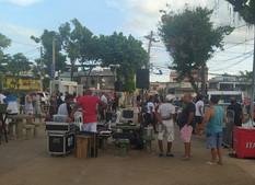SEOP frustra show em praça da Taquara, em Jacarepaguá